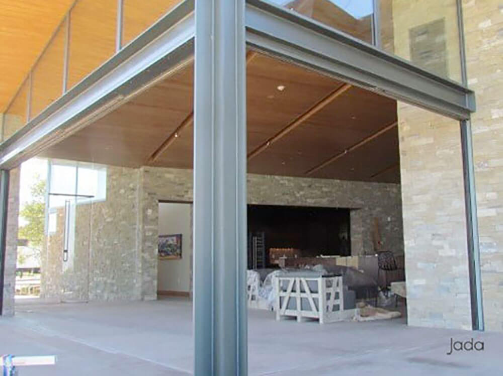 Extra Large Panels Of Glass Bring Extra Consideration To Steel Sliding Doors.  Our Large Glass Sliders Have A More Robust Profile That Creates A Deeper ...