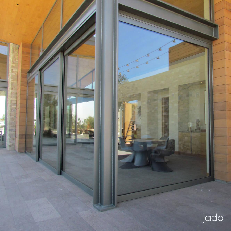 Steel & Glass Sliding Doors