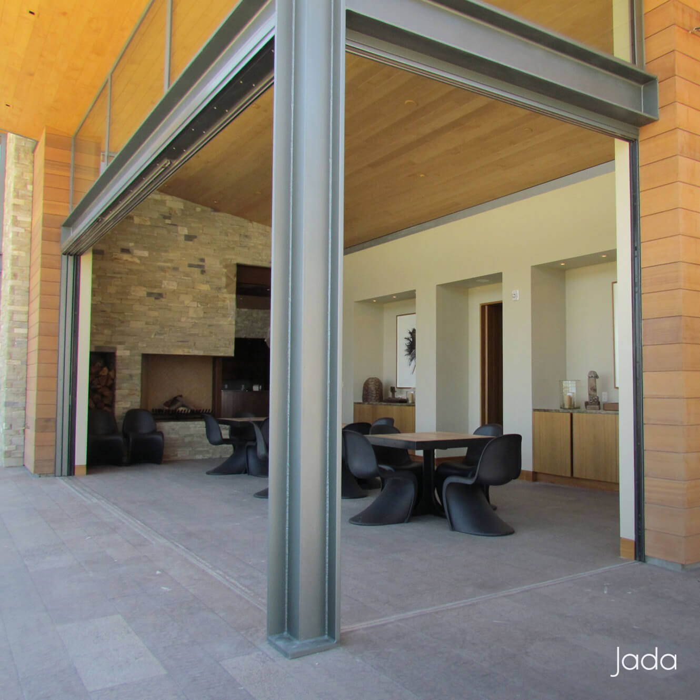 Large Sliding Windows : Steel glass sliding doors jada