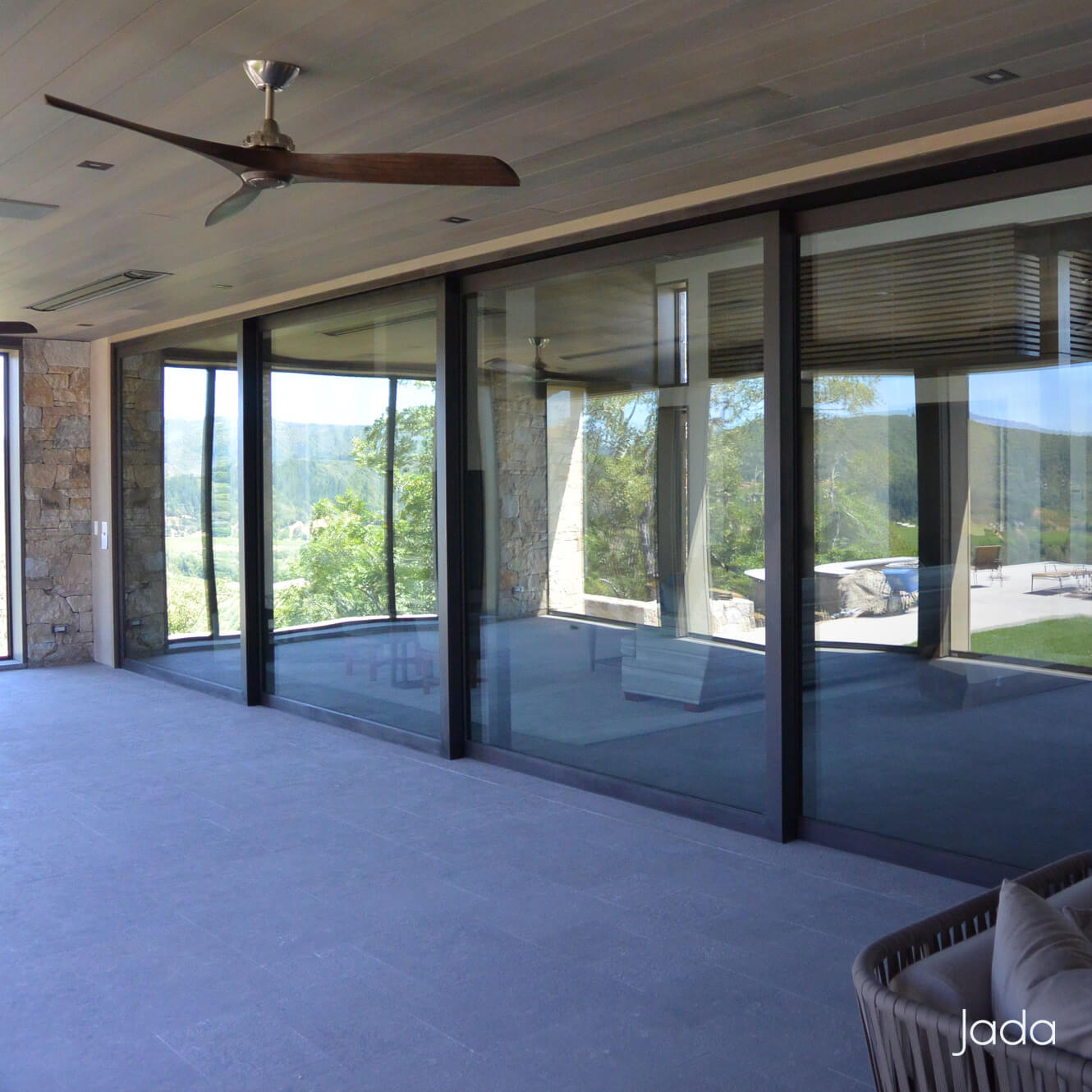 Steel Lift Slide Sliding Doors Jada